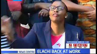 Beatrice Elachi reinstated as the Speaker of the Nairobi County Assembly
