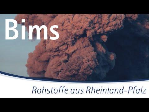 Rohstoffe aus Rheinland-Pfalz: Bims