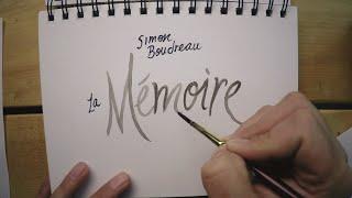 Simon Boudreau - La Mémoire [Clip Lyric Officiel]