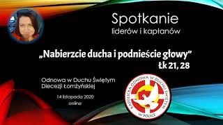 Spotkanie liderów ONLINE 14.11.2020 (cz. II)