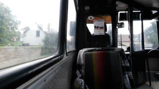 preview picture of video 'Ikarus 280.08 Jízda Zličín - Hostivice'