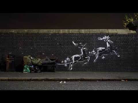 Bench Birmingham is the Latest Work from Banksy