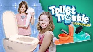 2 Kibelki 🚽  Toilet Trouble Flushdown - Challenge