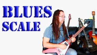 How To Play The Blues Scale - Beginner Guitar Lesson