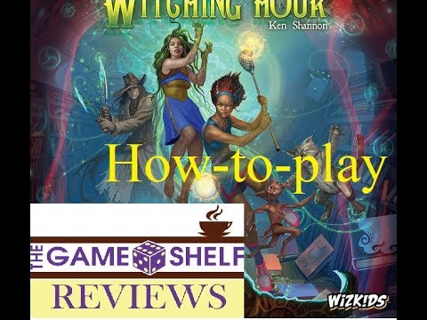 The Game Shelf Reviews- How to Play- Approaching Dawn: The Witching Hour