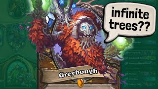 🌳 ENDLESS GREYBOUGHS 🌳  ...or is it GREEDboughs?? | Darkmoon Faire | Hearthstone