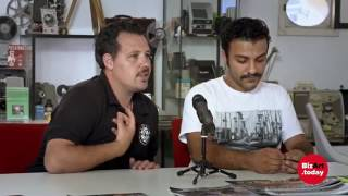 Rachela Abbate  interviews Ahmad Malki and Zaid Baqaeen about their residency in Genoa.