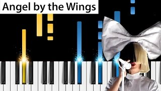 Sia - Angel by the Wings - Piano Tutorial - How to play Angel by the Wings on piano