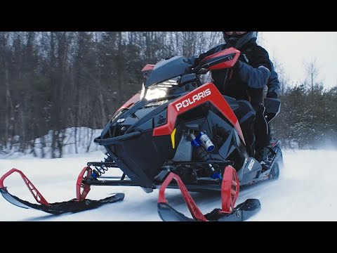 2021 Polaris 650 Indy VR1 129 SC in Hillman, Michigan - Video 1
