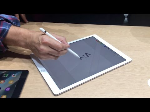 iPad Pro & Apple Pencil at Apple Special Event 2015