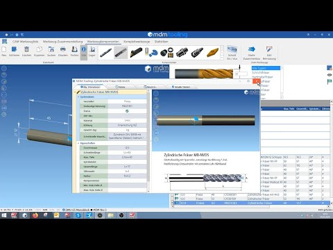 MDM-Tooling Schnittstelle zum FRAISA ToolExpert
