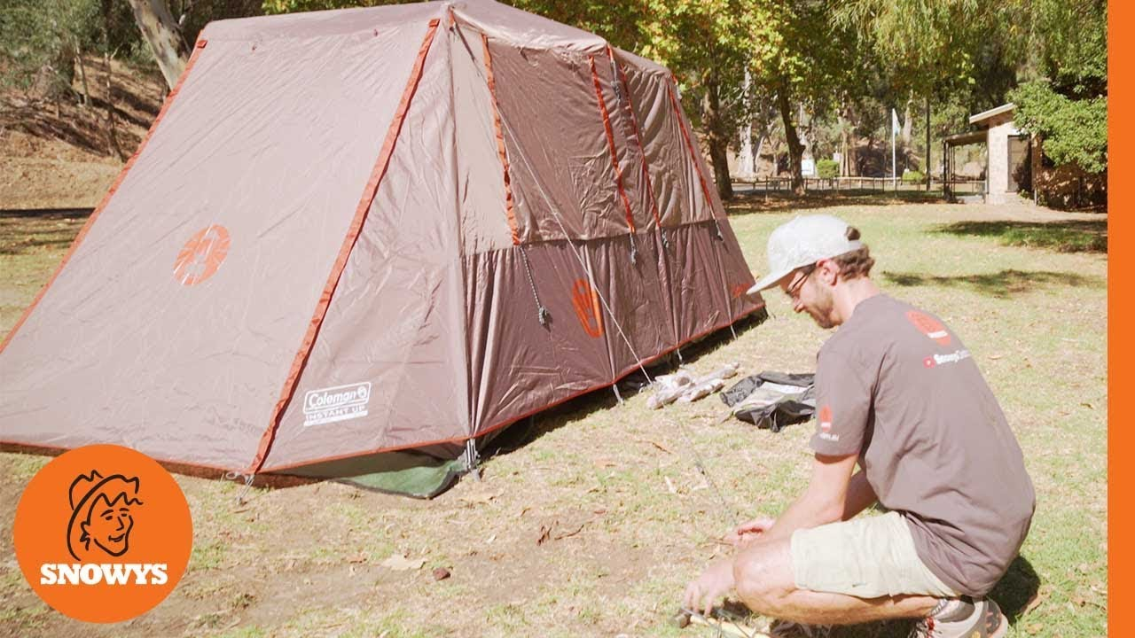 Instant Up 8P Tent
