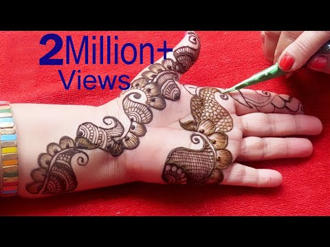 Latest Mehndi Henna Designs Simple Arabic Henna Henna Tattoo By