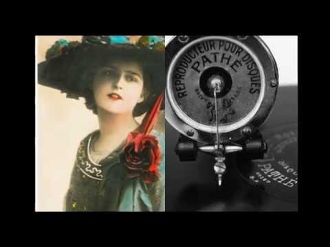PATHE  ca 1910  Gypsy romance. Cyg.romans. Jakub Ketler - bariton VTS 01 1