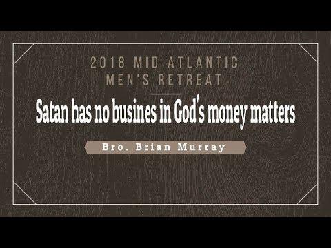 Satan has no business in God's money #spreadthegoodnews