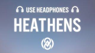 Harddope – Heathens (ft. Halvorsen) (8D Audio) 🎧