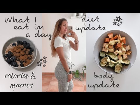WHAT I EAT IN A DAY | LEAN BULKING: calories, macros, body update