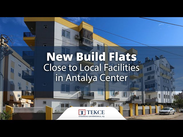 New Build Flats Close to Local Facilities in Antalya Center