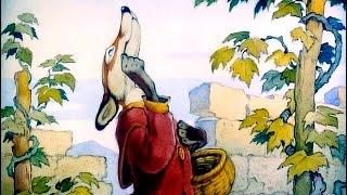 Смотреть онлайн Басня Крылова «Лисица и виноград»