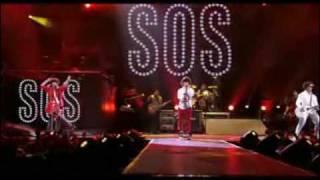 Jonas Brothers-S.O.S (Hannah Montana & Miley Cyrus 3D Concert) HQ