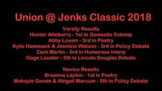 Let's talk Debate - Union High School