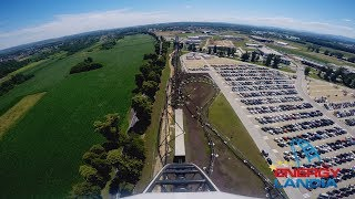 HYPERION Mega Coaster ^^ POV ^^ Premier Test - Energylandia Amusement Park Poland