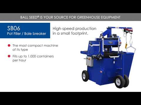SB06 Pot Filler / Bale Breaker - SB Machinerie thumbnail