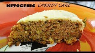 Keto Carrot Cake | Keto Recipes | Low Carb Dessert | Gluten Free