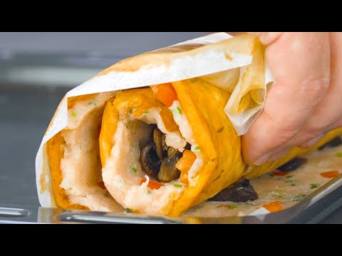 Roll Everything Up & You'll Have A Delicious Meal In 50 Minutes