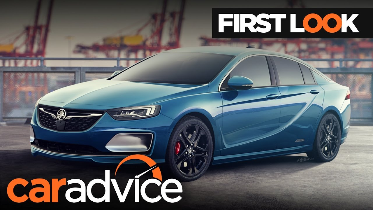 The 2018 Holden Commodore Won't Be Rear-Wheel Drive