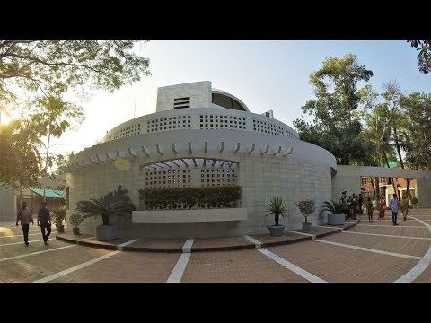 বঙ্গবন্ধুর সমাধিসৌধ - Mausoleum of Bangabandhu