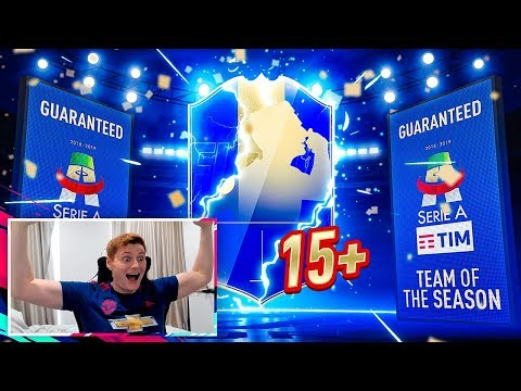 OMG 15+ GUARANTEED SERIE A TOTS PACKS!!! FIFA 19 Pack Opening!