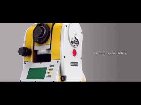 ZTS 360R total station video