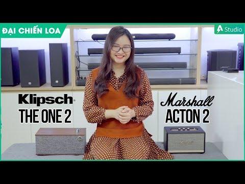 [Đại chiến loa] Klipsch The One 2 vs Marshall Acton 2| Loa nào hơn ???