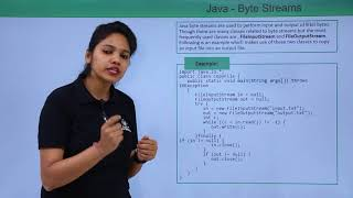 Java - Byte Stream