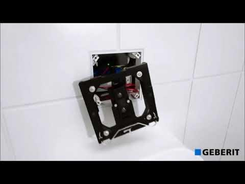 GEBERIT Sigma50 Betätigungsplatte - Installation