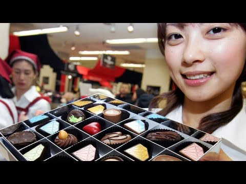 Valentines in Japan Women Buy Men Gifts