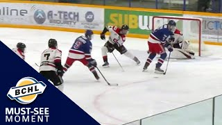 Must See Moment: Austin Spiridakis finishes off an incredible Spruce Kings passing play
