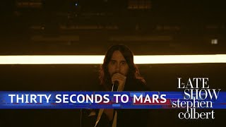 Thirty Seconds To Mars Perform 'Dangerous Night'