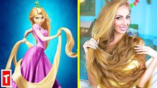 Real Life Disney Princess Rapunzels