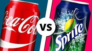 COCA-COLA vs SPRITE