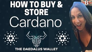 Store Cardano ADA with Daedalus Wallet Tutorial