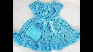 Crochet Patterns| For |crochet Baby Dress| 2936