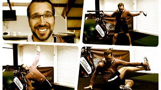 GOLF FITNESS - STRETCHING ROUTINE AND FLEXIBILITY