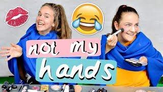 NOT MY HANDS CHALLENGE - Maria & Sidni