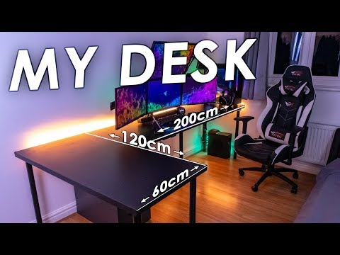 My Gaming Setup Desk | Choosing a desk for your setup