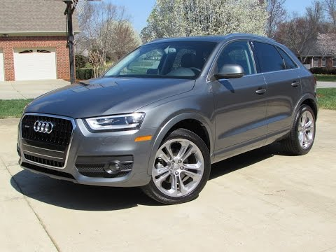 2015 Audi Q3 2.0T Quattro Start Up, Road Test, and In Depth Review