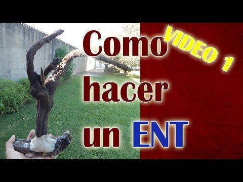 """Como hacer  un """"ENT"""" guardian del  bosque  VIDEO 1"""