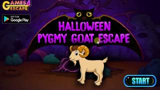 halloween pygmy goat escape walkthrough walkthrough