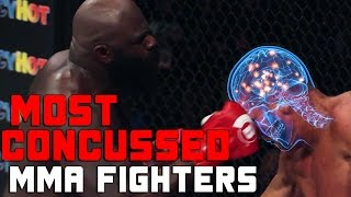 Most Concussed Fighters In MMA